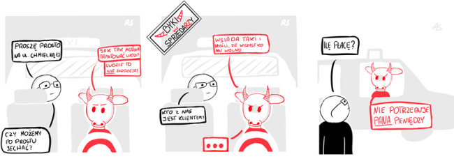 Byki w Sprzedaży: Odcinek 2 Taxi – Nie potrzebuję pana pieniędzy!